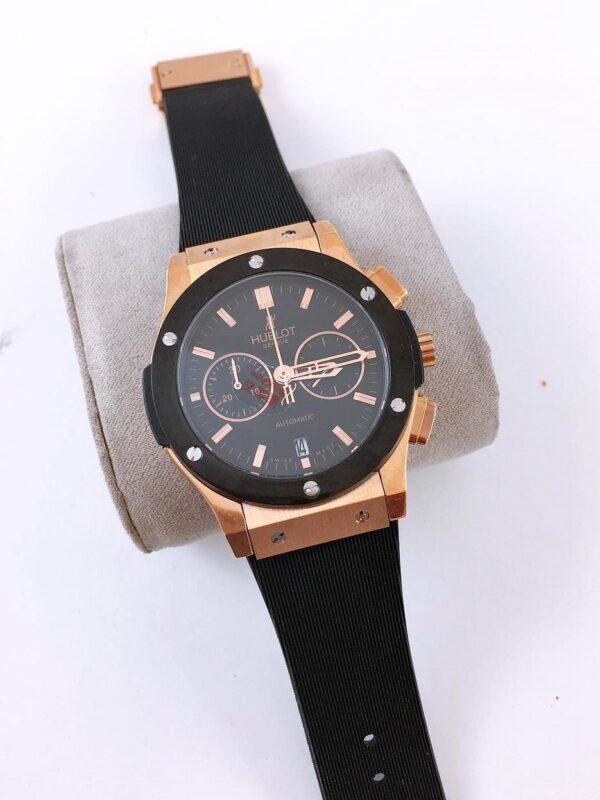 Réplica de relógio Hublot Vendome Big Bang – Dourado/Preto