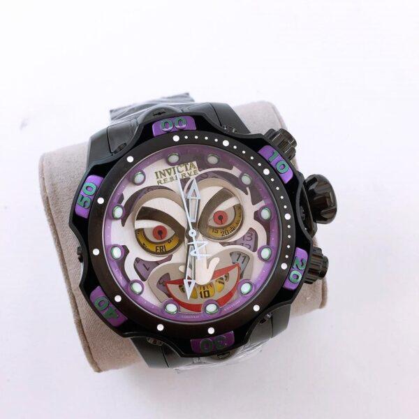 Réplica de relógio Invicta Coringa – Roxo
