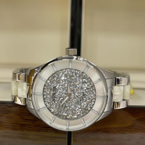 Réplica de relógio Invicta Angel Feminino – Prata