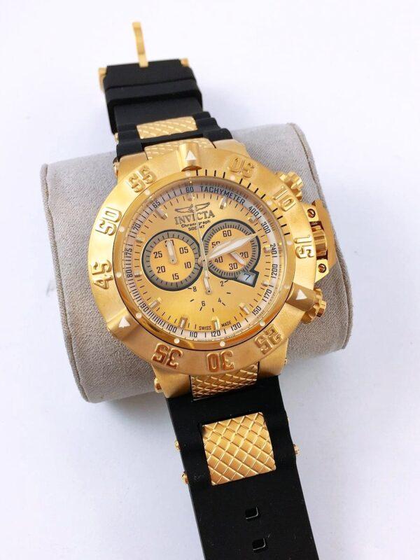 Réplica de relógio Invicta Noma lll – Dourado/Preto