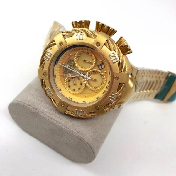 Réplica de relógio Invicta Thunderbolt – Dourado