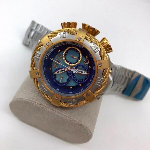 Réplica de relógio Invicta Thunderbolt – Prata/Dourado