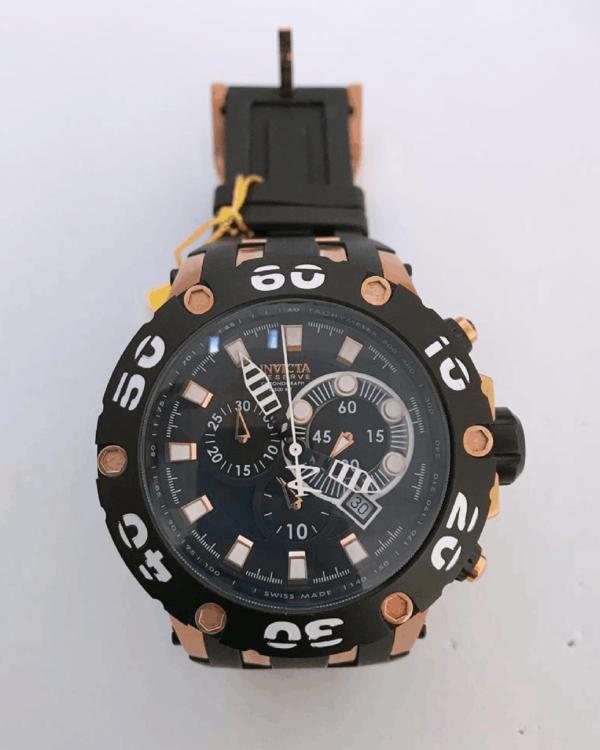 Réplica de relógio Invicta Reserve – Preto