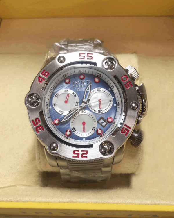 Réplica de relógio Invicta Reserve Swiss – Prata