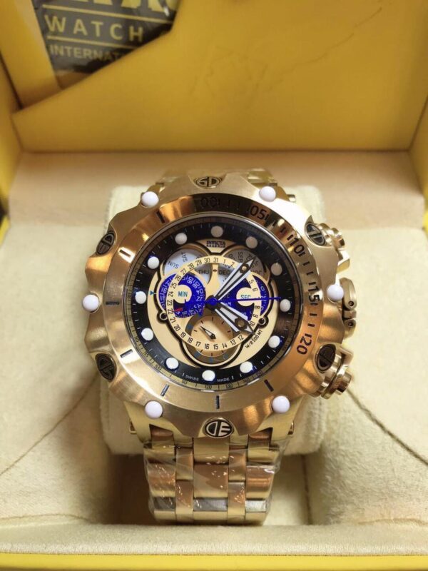 Réplica de relógio Invicta Hibrid Top Premium – Dourado