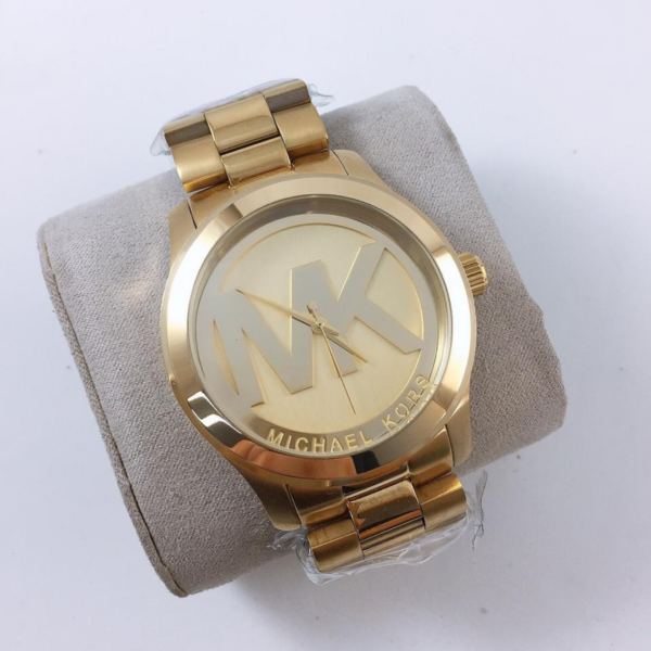 Réplica de relógio Michael Kors – Dourado III