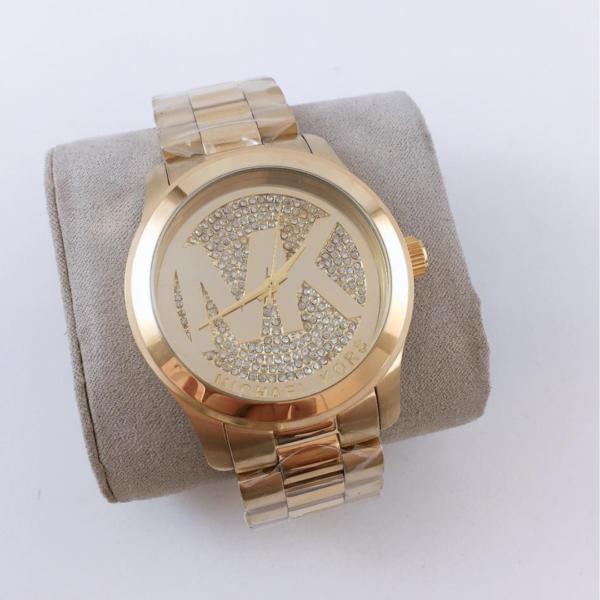 Réplica de relógio Michael Kors – Dourado IV