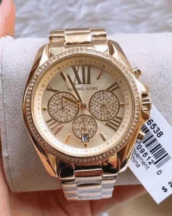 Réplica de relógio Michael Kors – Dourado V