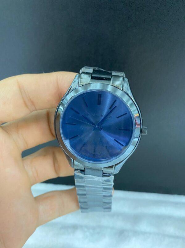 Réplica de relógio Michael Kors – Azul/Preto