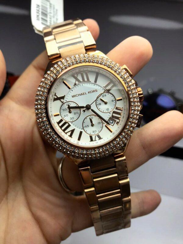 Réplica de relógio Michael Kors – Dourado VI