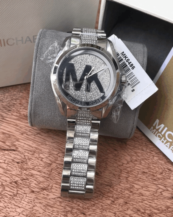 Réplica de relógio Michael Kors – Prata II