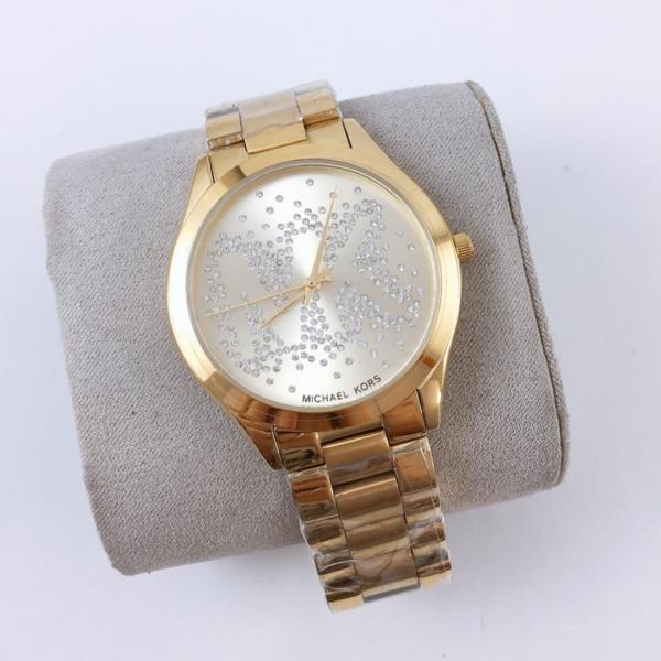 Réplica de relógio Michael Kors – Dourado/Prata