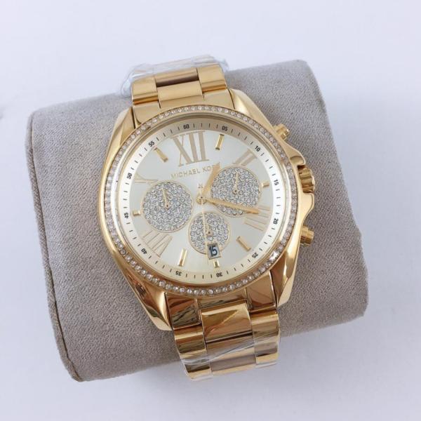 Réplica de relógio Michael Kors – Dourado I