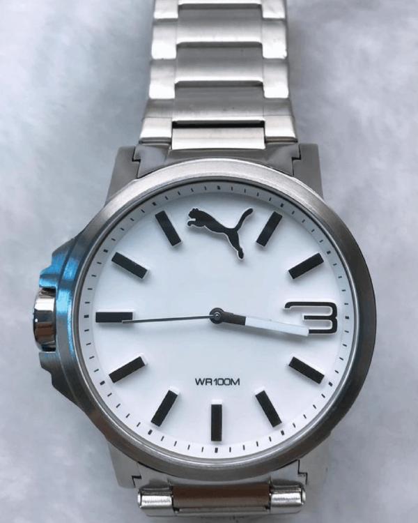Réplica de relógio Puma Branco