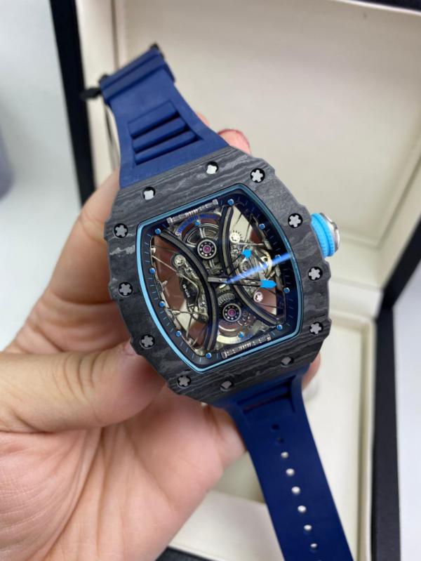 Réplica de relógio Richard Miller Automático Azul
