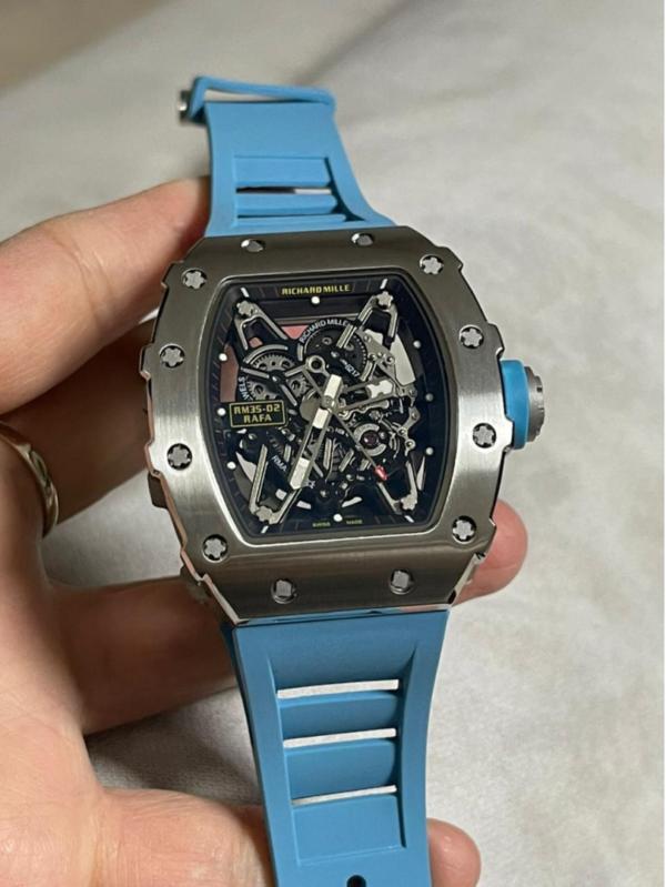 Réplica de relógio Richard Miller Azul