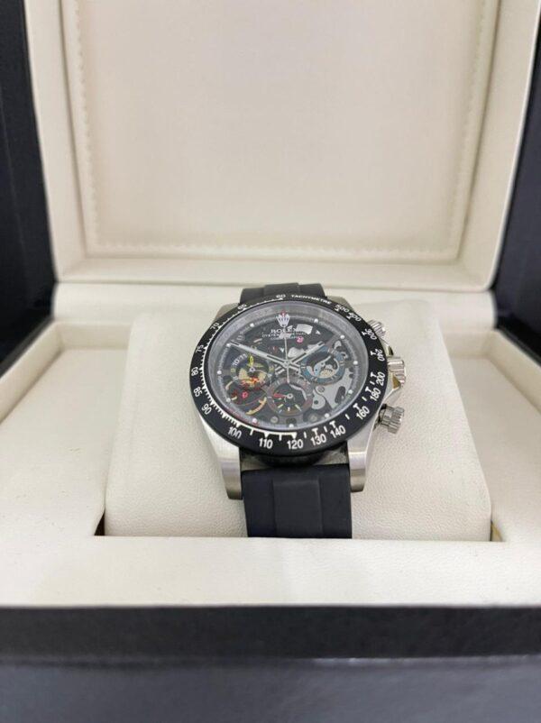 Réplica de relógio Rolex Daytona Artisans Preto