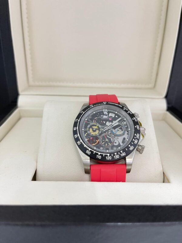 Réplica de relógio Rolex Daytona Artisans Vermelho