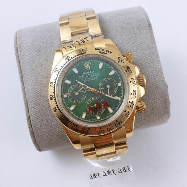 Réplica de relógio Rolex Daytona Dourado
