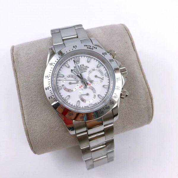 Réplica de relógio Rolex Daytona Prata
