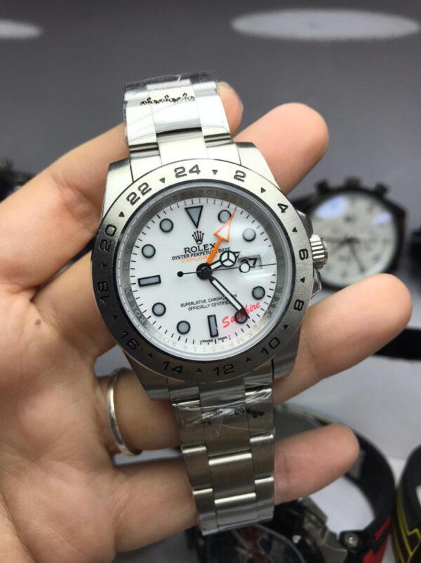 Réplica de relógio Rolex GMT Explorer II