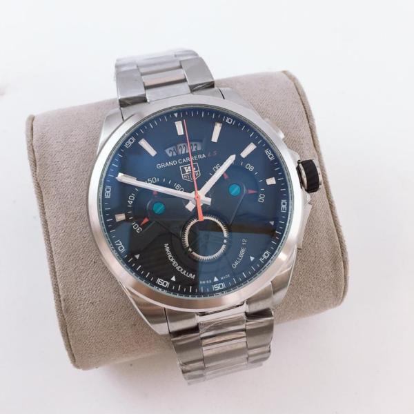 Réplica de relógio Tag Heuer Grand Carrera – Prata