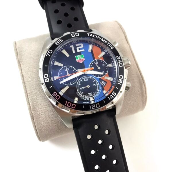Réplica de relógio Tag Heuer Formula 1 Borracha – Preto/Colorido