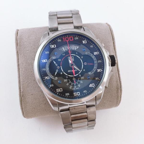Réplica de relógio Tag Heuer Mercedes Benz SLZ Aço – Prata