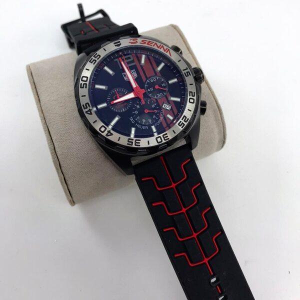 Réplica de relógio Tag Heuer Senna F1 – Preto 3