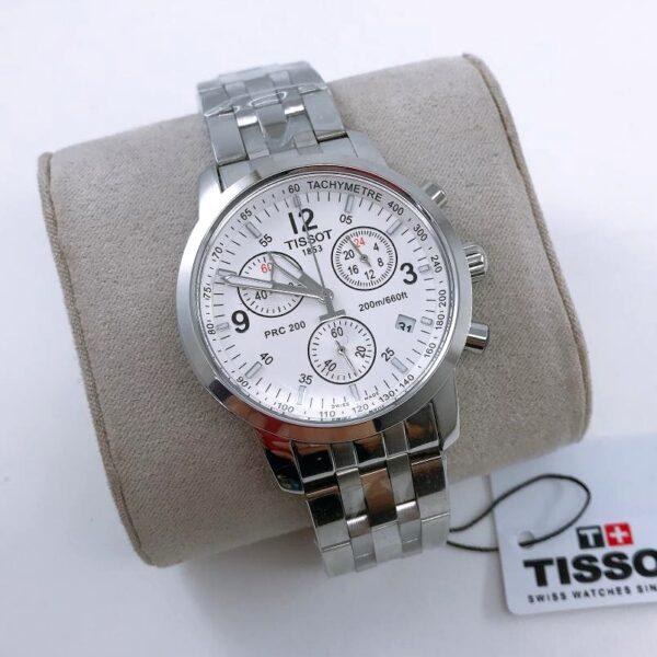 Réplica de relógio Tissot PRC 200 Branco