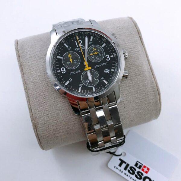 Réplica de relógio Tissot PRC 200 Preto