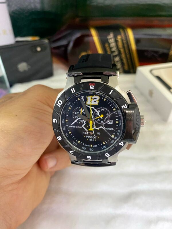 Réplica de relógio Tissot T-RACE Amarelo 5