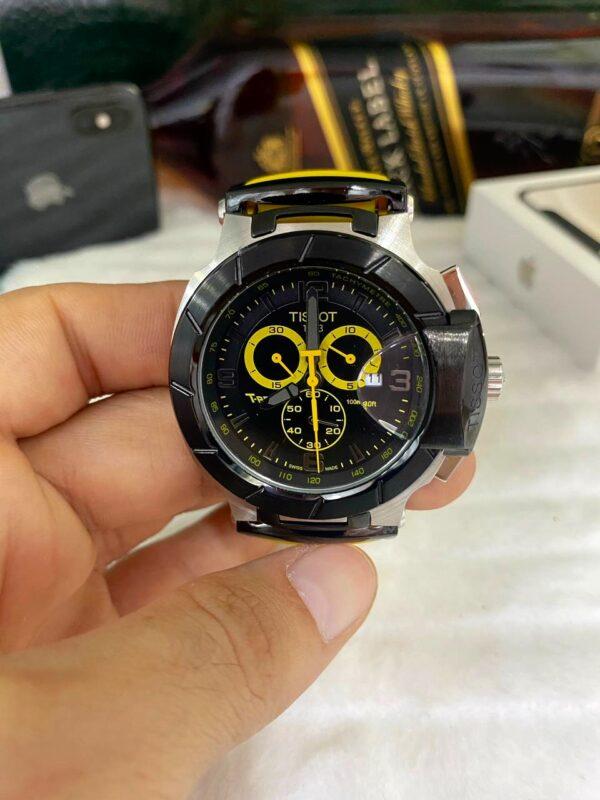 Réplica de relógio Tissot T-RACE Amarelo