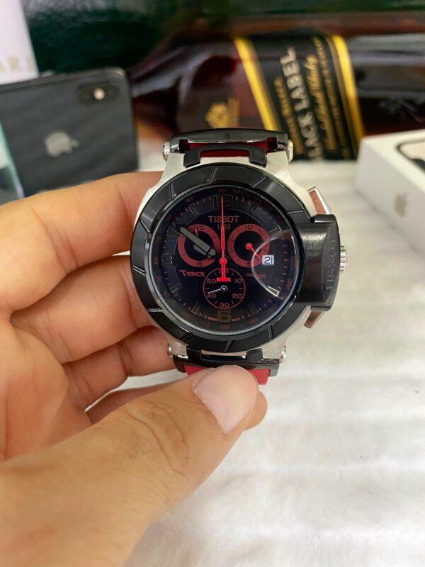 Réplica de relógio Tissot T-RACE Vermelho