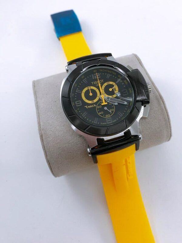 Réplica de relógio Tissot T-RACE Amarelo 2