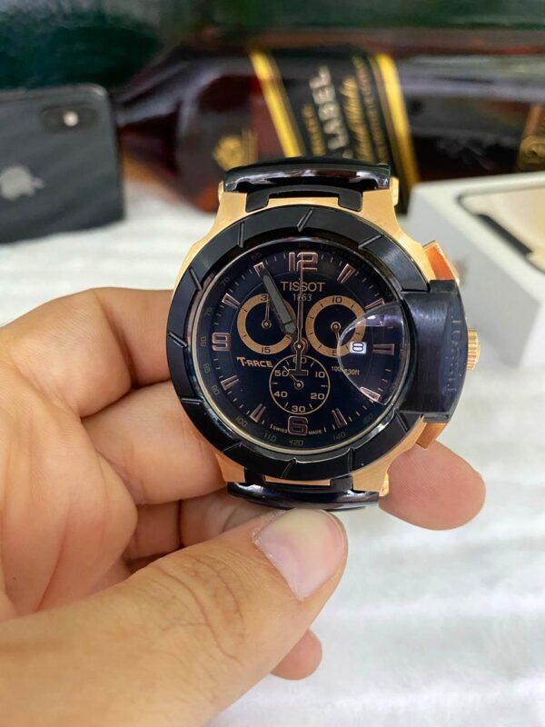 Réplica de relógio Tissot T-RACE Laranja 2