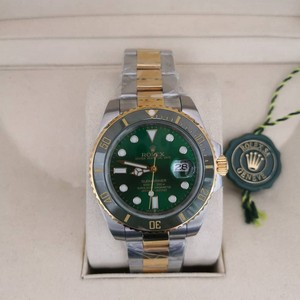 Réplica de relógio Rolex Submariner Misto – Verde