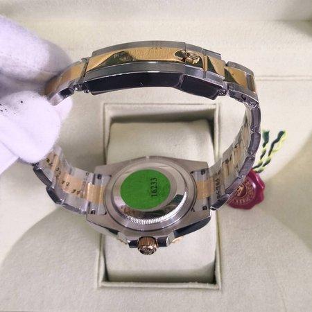 Réplica de relógio Rolex Submariner Misto – Verde 3