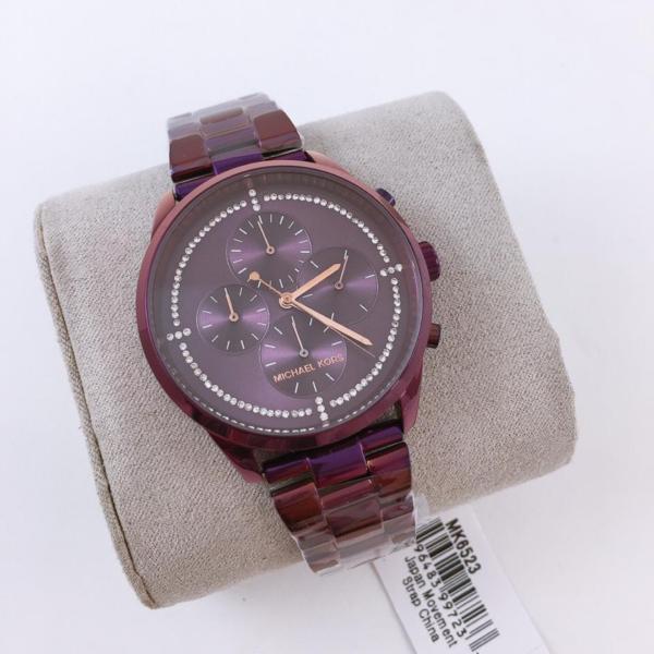 Réplica de relógio Michael Kors – Vinho/Roxo